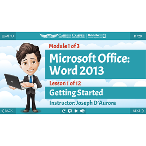 Microsoft Office Module Title