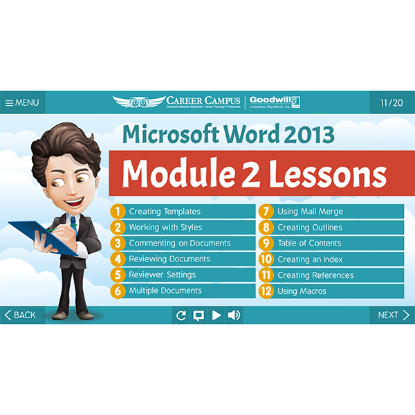 2013 Word - Mod 2 - Lesson 1 - Outline