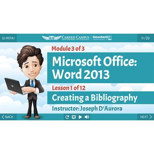 2013 Word - Mod 3 - Lesson 1 - Title