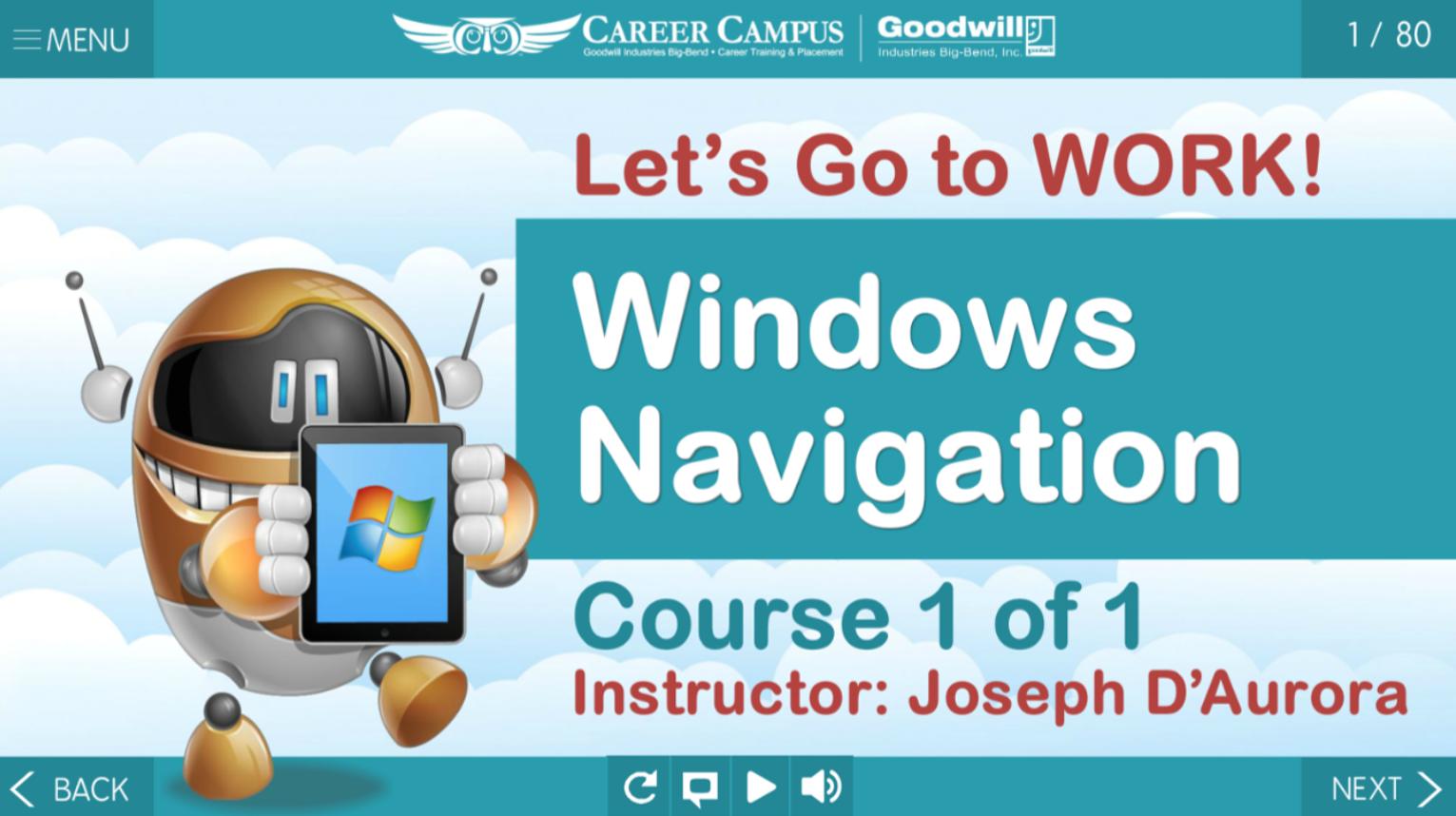 Windows Navigation Skills Link