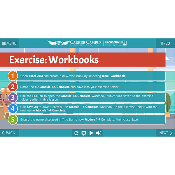 exercise example slide