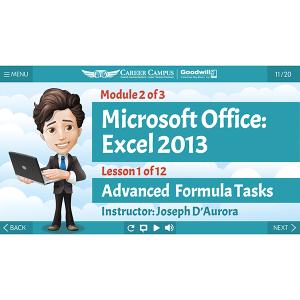 Excel 2013 - Mod 2 - Lesson 1 - Title