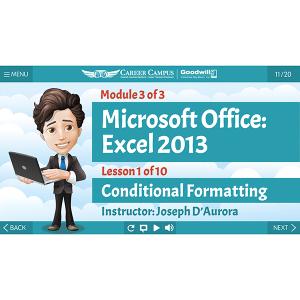 Excel 2013 - Mod 3 - Lesson 1 - Title