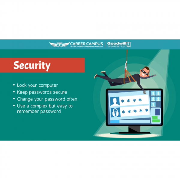 security lock your computer image