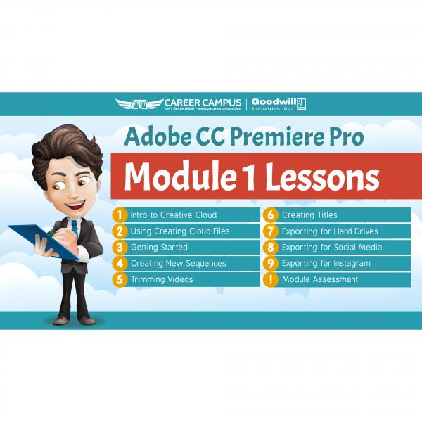 premiere pro lesson 1 module image