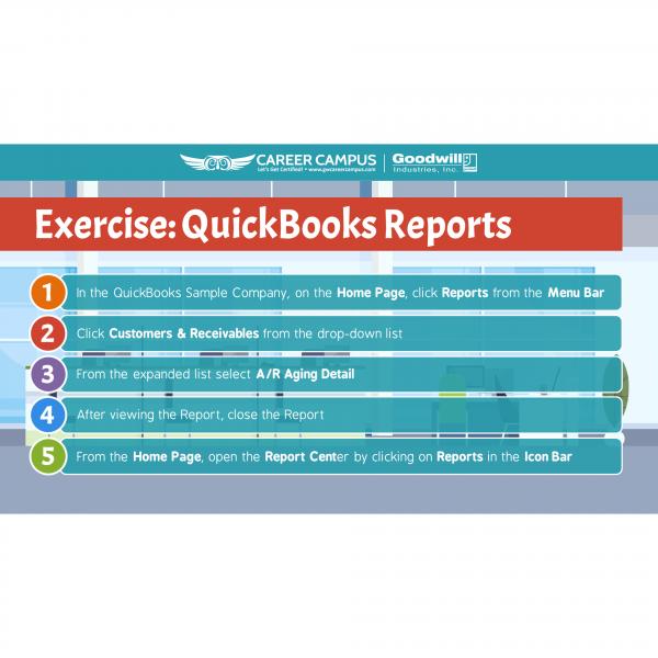 quickbooks reports