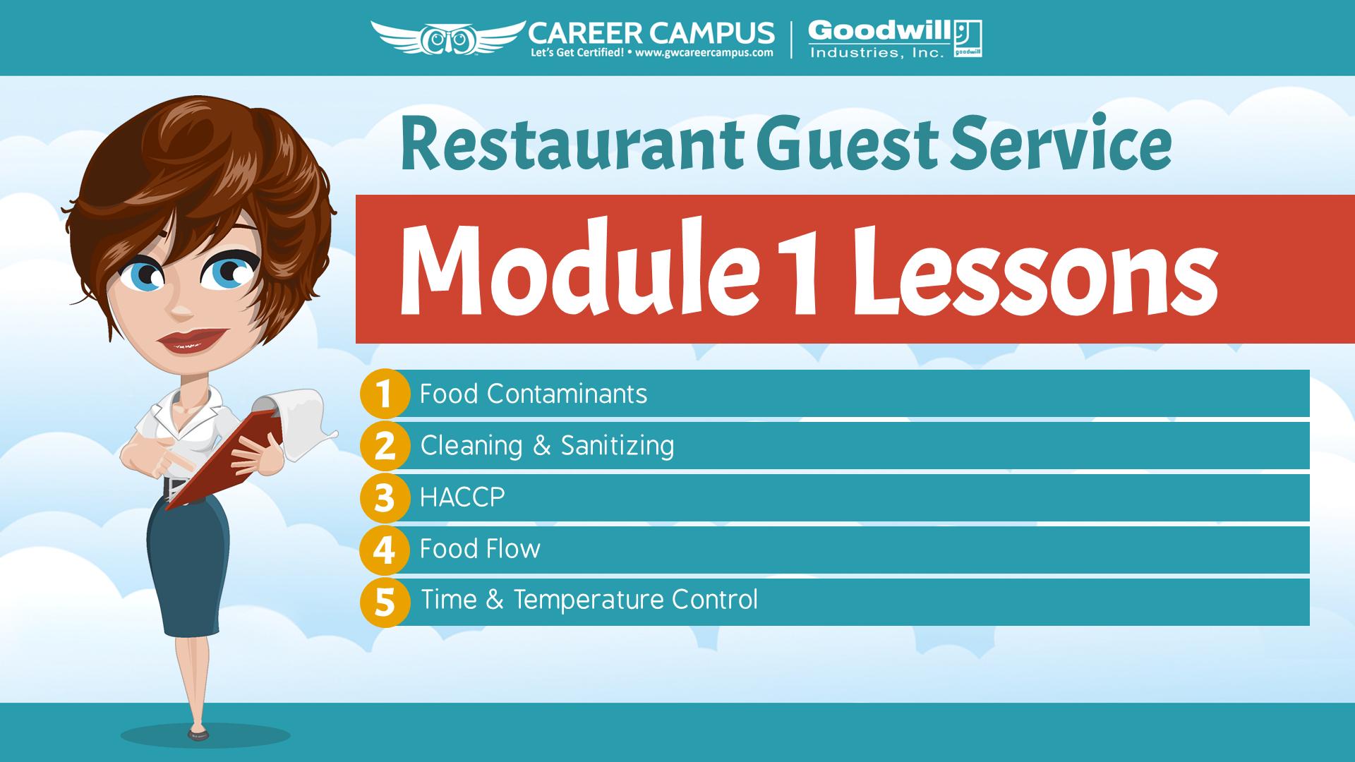 restaurant guest lesson