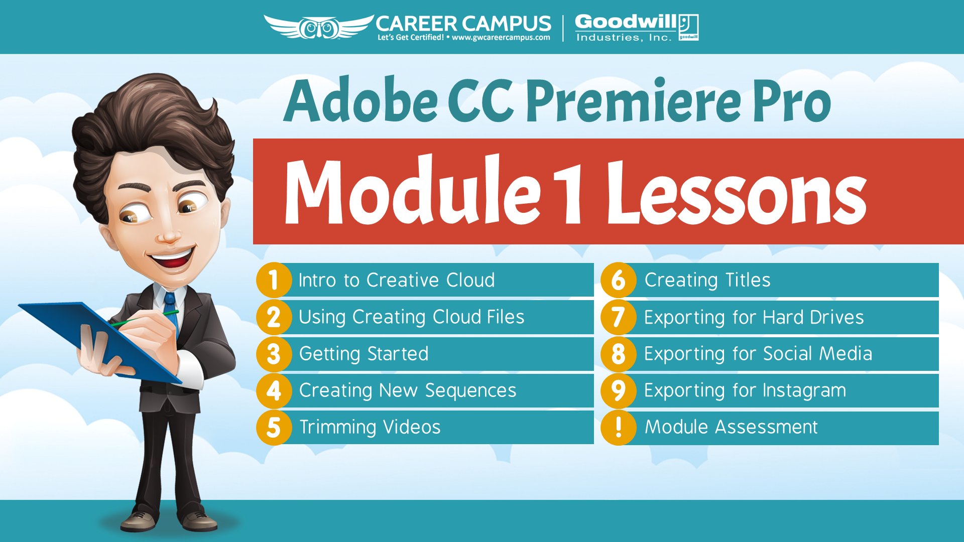 adobe cc module premiere lesson pro