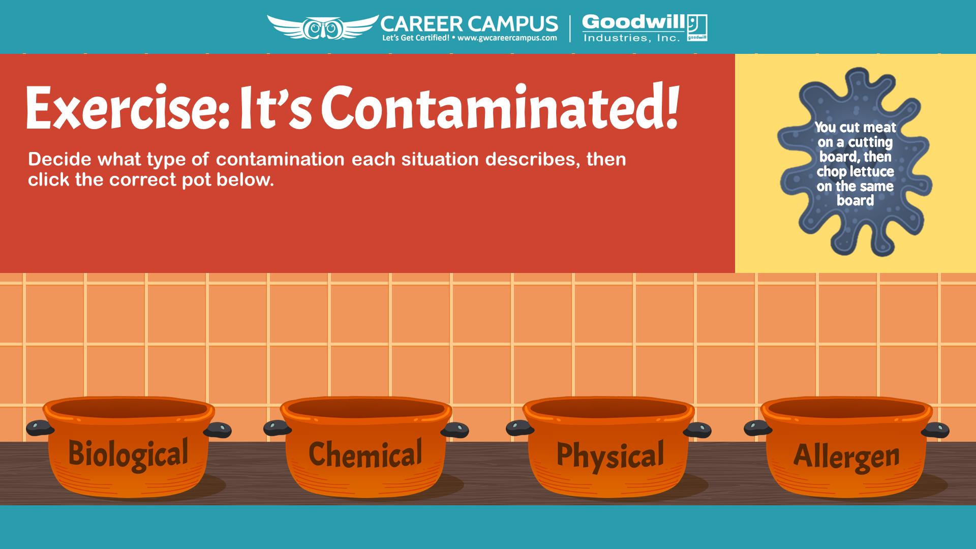 contaminated!!