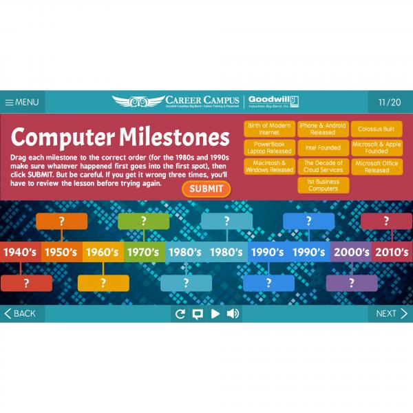 computer milestones