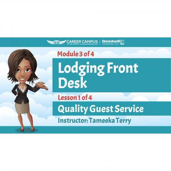lodging front desk image